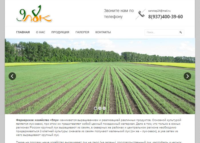 Фермерское хозяйство «9лук»